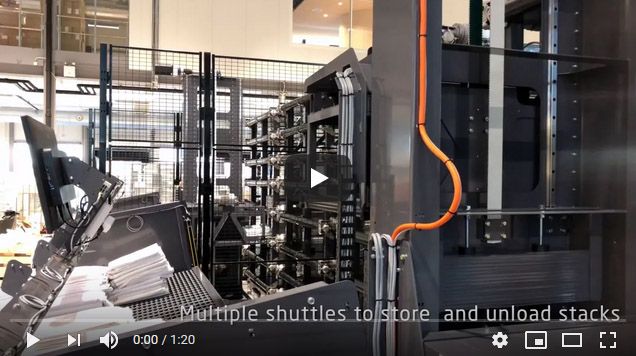 Inwatec Automatic Linen Buffer and Storage