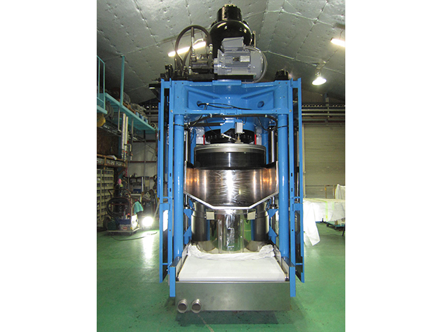 三菱重工 油圧脱水機 HP-3000Ⅲ